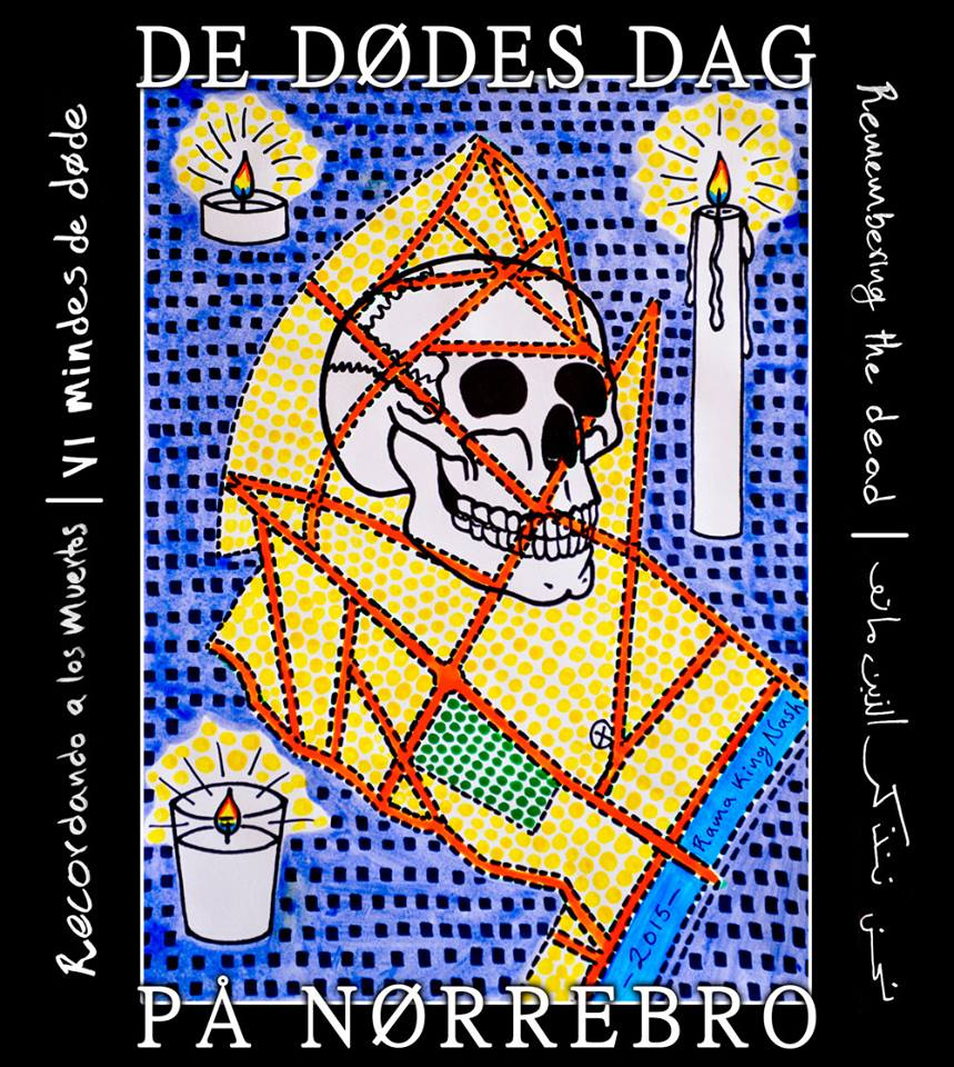 De Dødes Dag 2015 helenkholin Día de Muertos