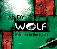 Andy Wolf Welcome to the future helen kholin music cover cd design