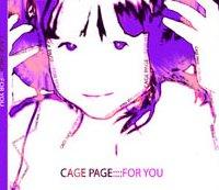 Cage page - For You helen kholin cd design