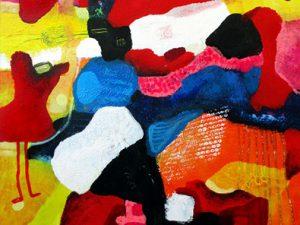 Fairytales of Earth helenkholin adstrakte malerier til salg art for sale
