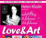Love and art Helen Kholin Copenhagen art
