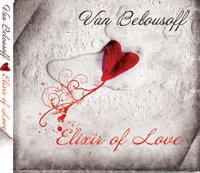 Van Belousoff elixir of love helen kholin music cover cd design