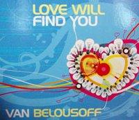 Van Belousoff love will find you helen kholin music cover cd design