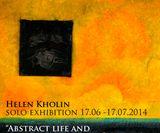abstract life and the Pareto Principle Helen Kholin Solo udstilling Artkemi