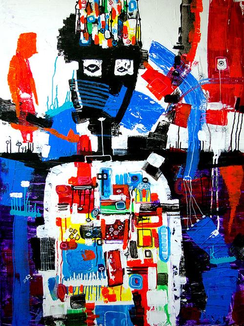 helen kholin begivenheds horizont event horizon helenkholin abstrakt maleri