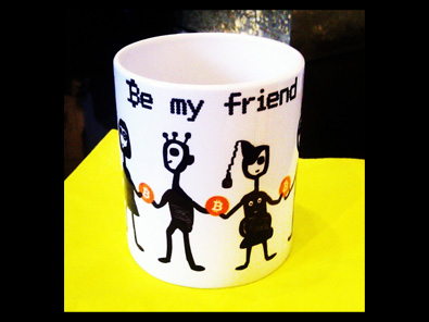 bitcoin my friend mug be my friend helen kholin kunstkrus sm