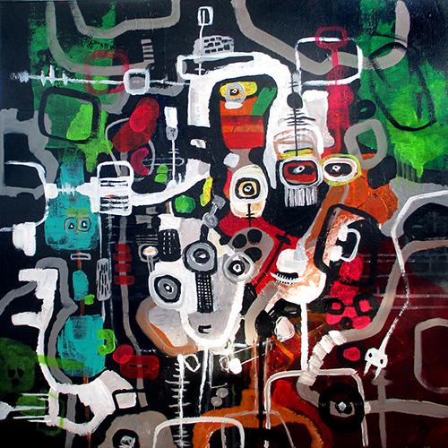 helen kholin cyberspace, people, dark matter helenkholin art kunst