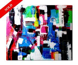 divers helen kholin painting maleri sold solgt