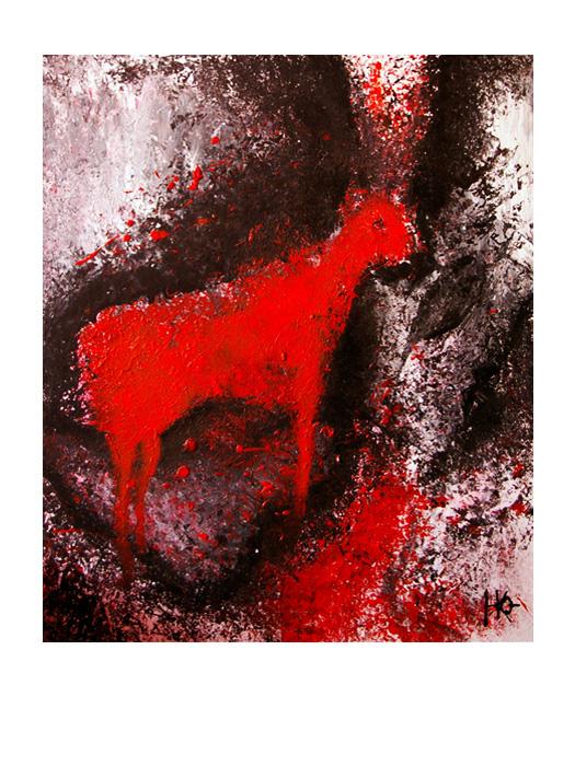 serie dreams nr 10 helen kholin painting maleri