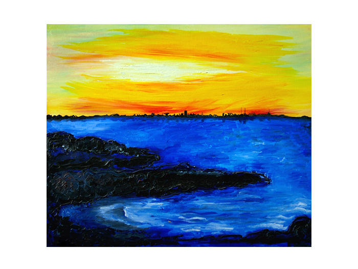 serie dreams nr 21 helen kholin painting maleri