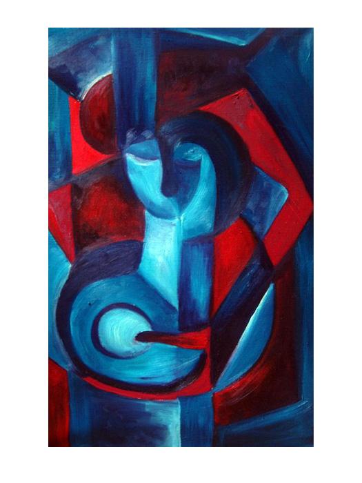 serie dreams nr 32 helen kholin painting maleri
