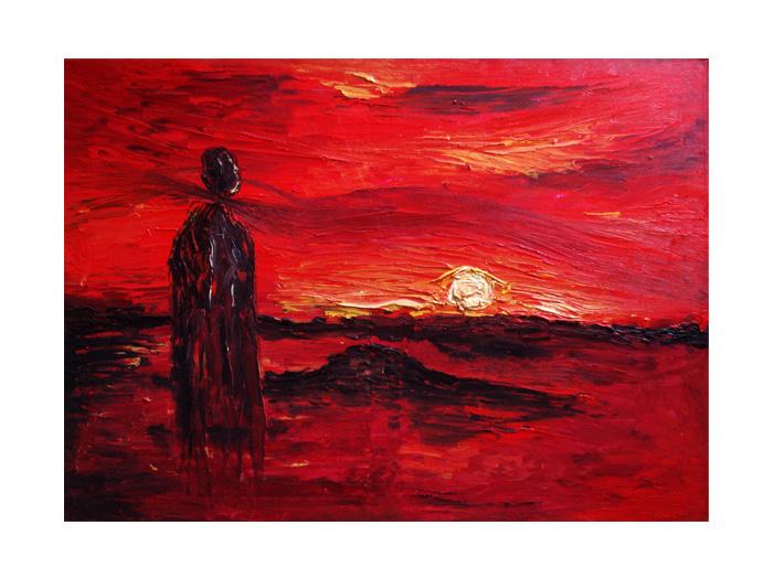 serie dreams nr 47 helen kholin painting maleri
