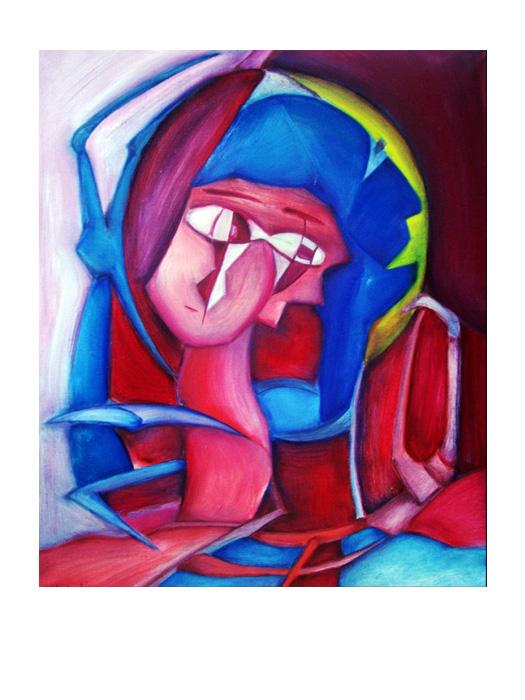 serie dreams nr 9 helen kholin painting maleri