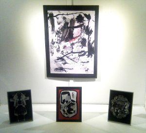 abstrakt kunst helen kholin gadens galleri solo udstilling exhibition copenhagen marts 2017