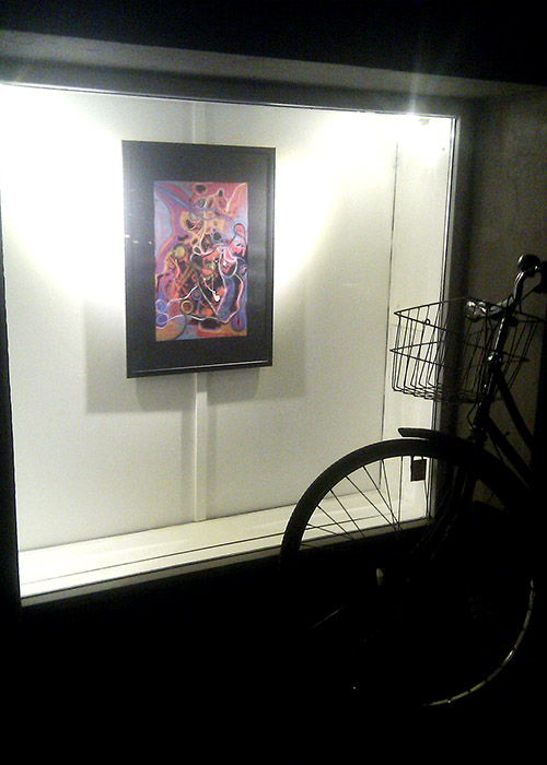 cykel helen kholin gadens galleri solo udstilling exhibition copenhagen marts 2017