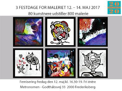 metronomen Frederiksberg udstilling helen kholin 3 Festdage for Maleriet