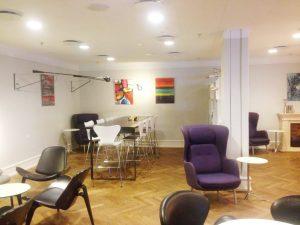 Aviator Lounge Copenhagen Airport helen kholin exhibition udstilling 2
