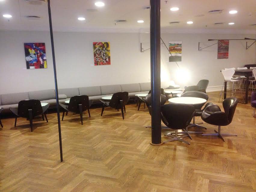 Aviator Lounge Copenhagen Airport helen kholin exhibition udstilling 3