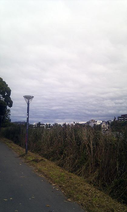mystiske Koebenhavn himlen graa skyer