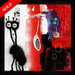 Life of the spacesnail sold art helen kholin