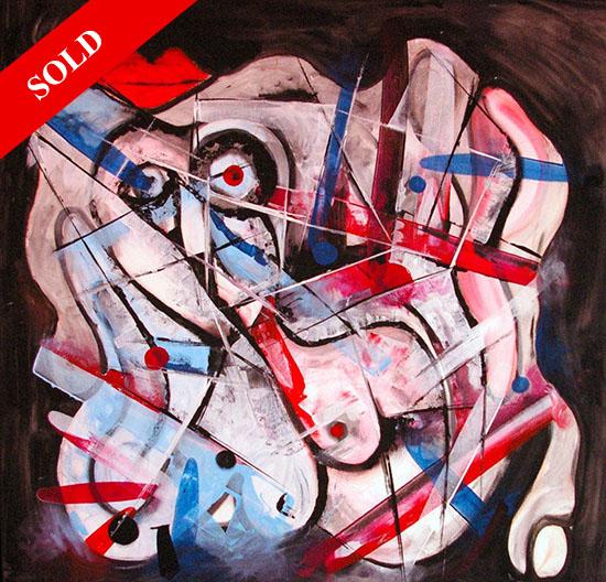 Sides of the woman sold art helen kholin monaco solgt kunst