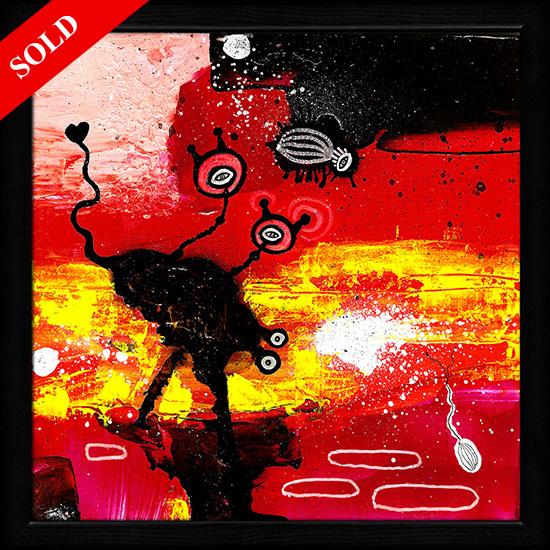 Sunset on Mars sold art helen kholin