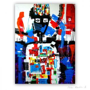 13 Event Horizon Begivenhedshorisont 120x90 cm abstrakte malerier helen kholin 2016 painting