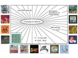 3 Festdage for Maleriet i Metronomen 11– 13 maj 2018 1