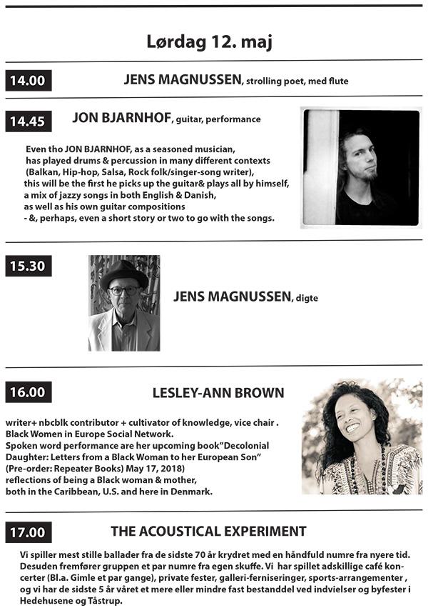 3 Festdage for Maleriet i Metronomen 11– 13 maj 2018 program 2