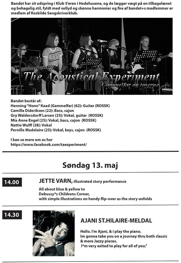 3 Festdage for Maleriet i Metronomen 11– 13 maj 2018 program 3