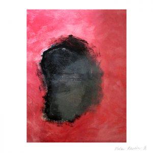 1 paintning abstrakt maleri space 1 helen kholin canvas 80x60 cm ramme