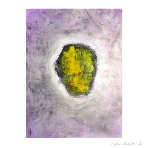 5 paintning abstrakt maleri space 5 helen kholin canvas 80x60 cm ramme