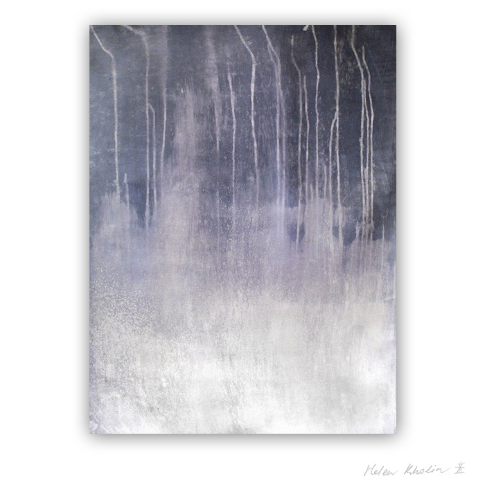 10 Whisper of Birches in the Evening Fog Color of Silence 10 what is the color of silience helen kholin abstrakte malerier abstract painting
