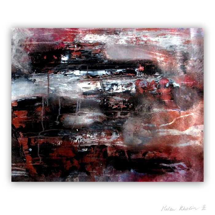 11 Smell of sand Color of Silence 11 what is the color of silience helen kholin abstrakte malerier abstract painting
