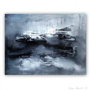 12 Gray Wind Color of Silence 12 what is the color of silience helen kholin abstrakte malerier abstract painting