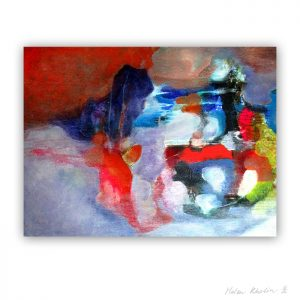 14 Under the Water 14 what is the color of silience helen kholin abstrakte malerier abstract painting