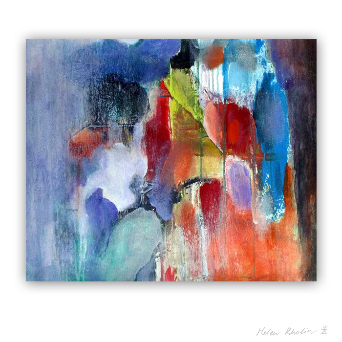 15 Frosty Air 15 what is the color of silience helen kholin abstrakte malerier abstract painting