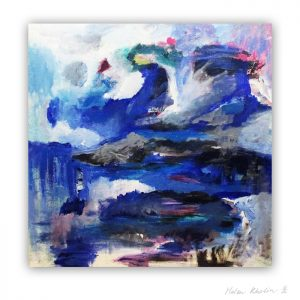 3 River The Color of Silence 3 what is the color of silience helen kholin abstrakte malerier abstract painting