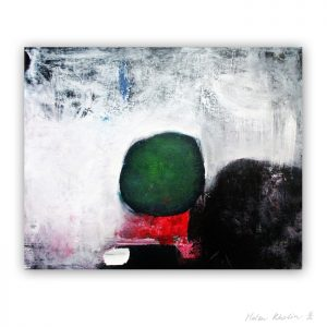 7 Man and red pillow The Color of Silence 7 what is the color of silience helen kholin abstrakte malerier abstract painting