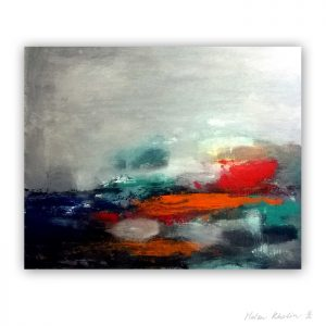 8 Lake Silence FogThe Color of Silence 8 what is the color of silience helen kholin abstrakte malerier abstract painting