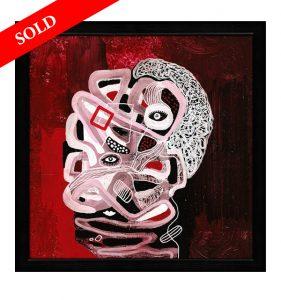 1 Labyrinths of Reason helen kholin sold art solgt kunst maleri