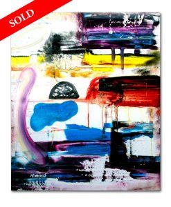 4 Partly Cloudy helen kholin sold art solgt kunst maleri
