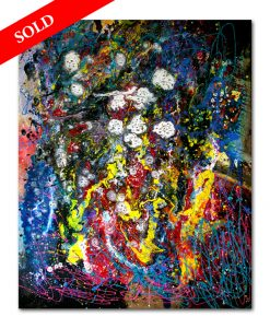 6 Galaxy my18d10 Crazy eyes helen kholin sold art solgt kunst maleri