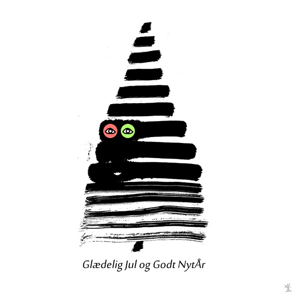 Merry Christmas and Happy New Year 2019 Glaedelig Jul godt nytaar