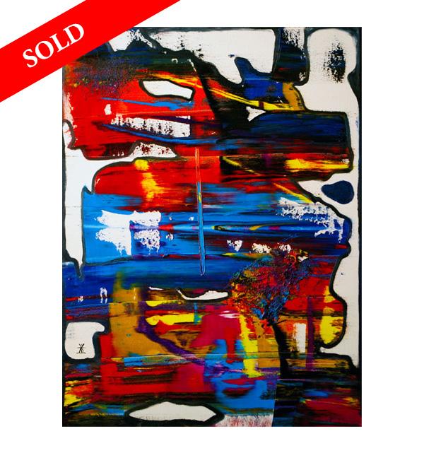 Girl and Dragon helen kholin sold art solgt kunst maleri