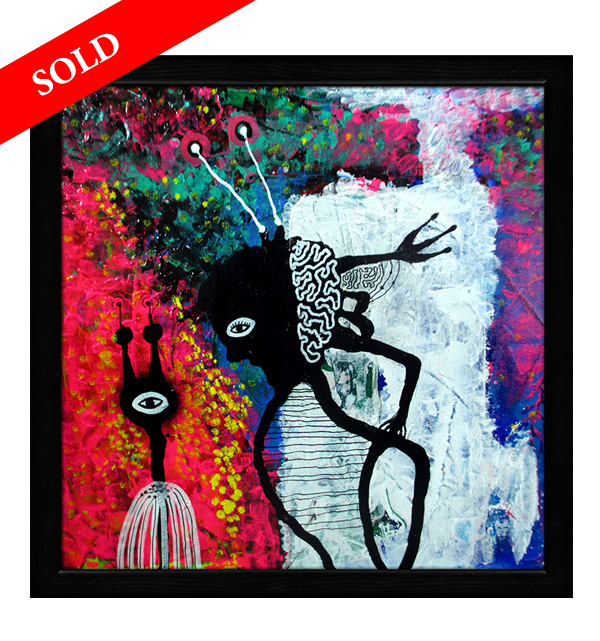 sold paintings Let me invite you by helen kholin solgt kunst