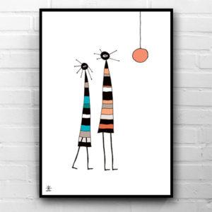10-two-and-moon-space-people-kunsttryk-print-med-kunst-ufoprint-art-prints-boligkunst-helen-kholin