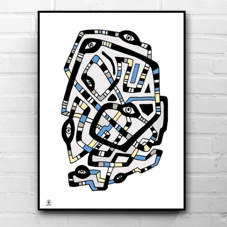 11-Crop-circle-DNA-kunsttryk-print-med-kunst-ufoprint-art-prints-helen-kholin-768x768