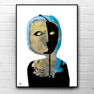 18-See-the-future-together-ufo-art-prints-helen-kholin