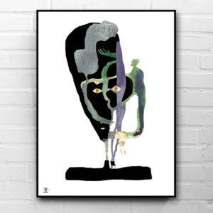 20-Chameleon-ufo-art-prints-helen-kholin